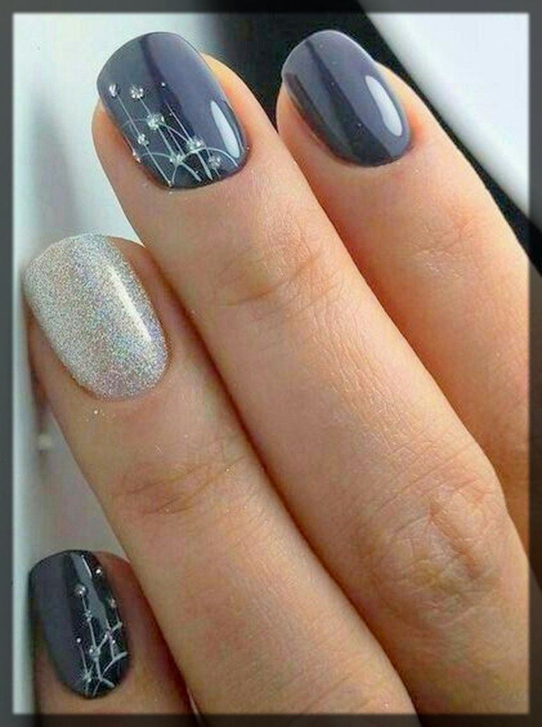 Winter Nail Art Design And Trends