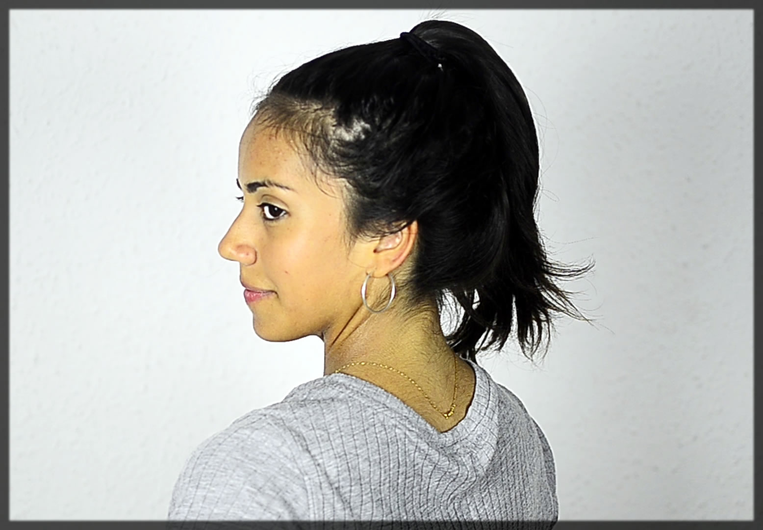 Wrap Ponytail Winter Hairstyles For Women