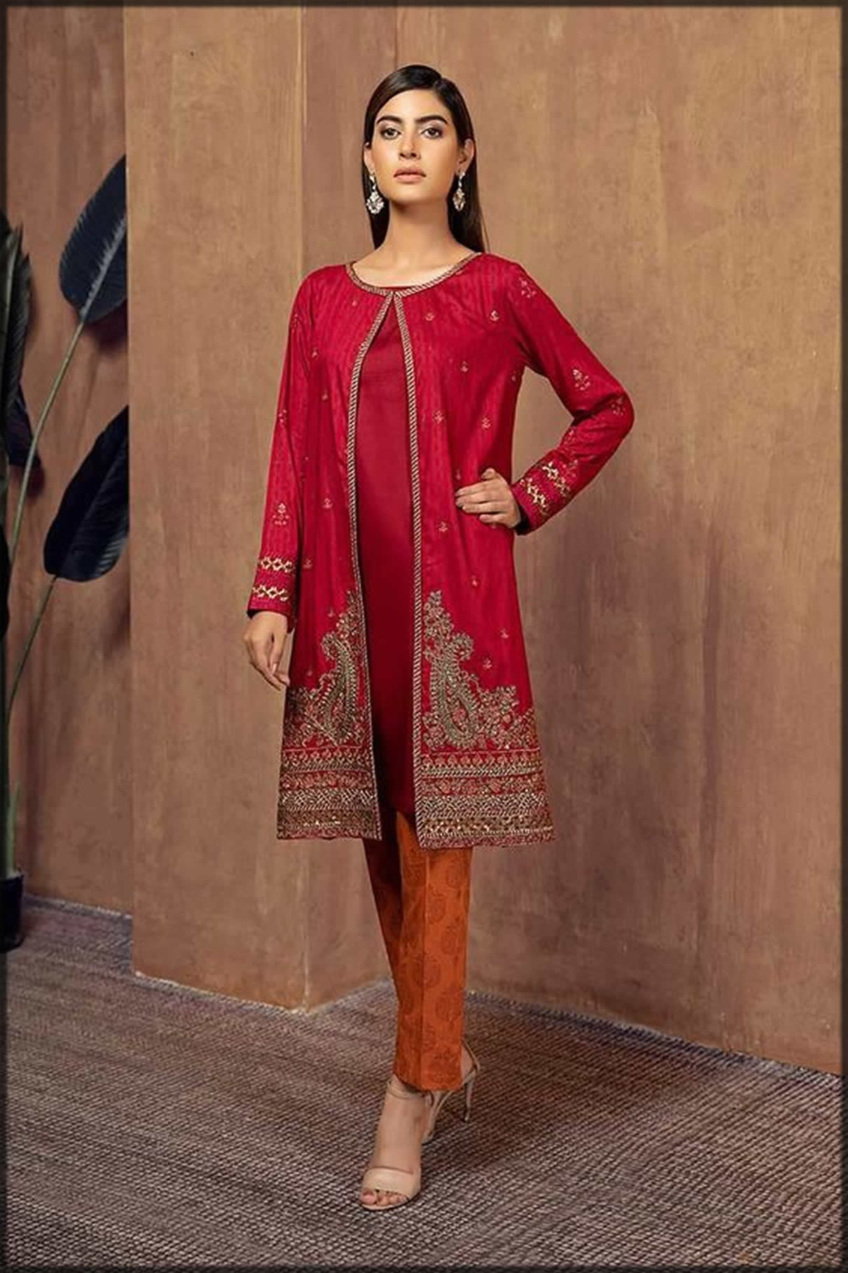 Latest Pakistani Gown Style Dresses 5 by Top Designers/Brands