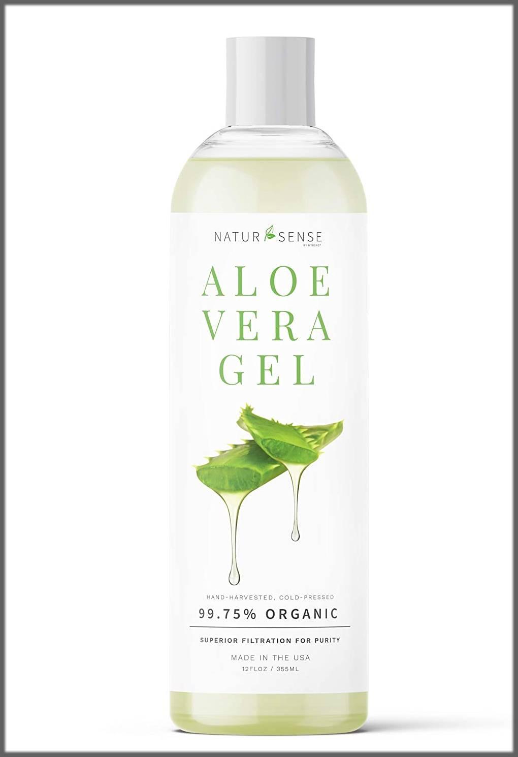 aloe vera gel for good skin