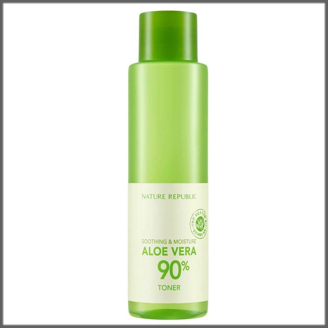 aloe vera toner for skincare