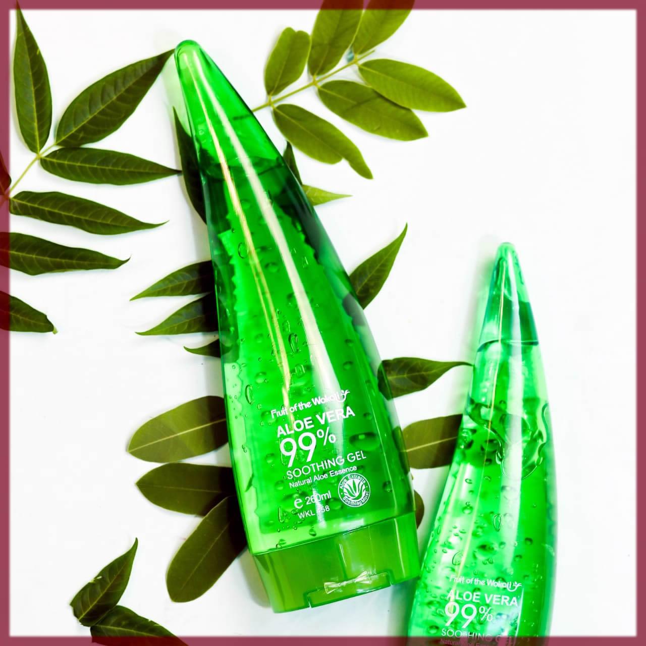alovera gel for glowing skin