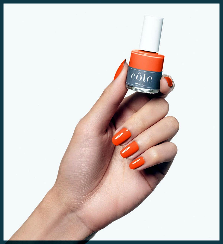 Stylish orange shade