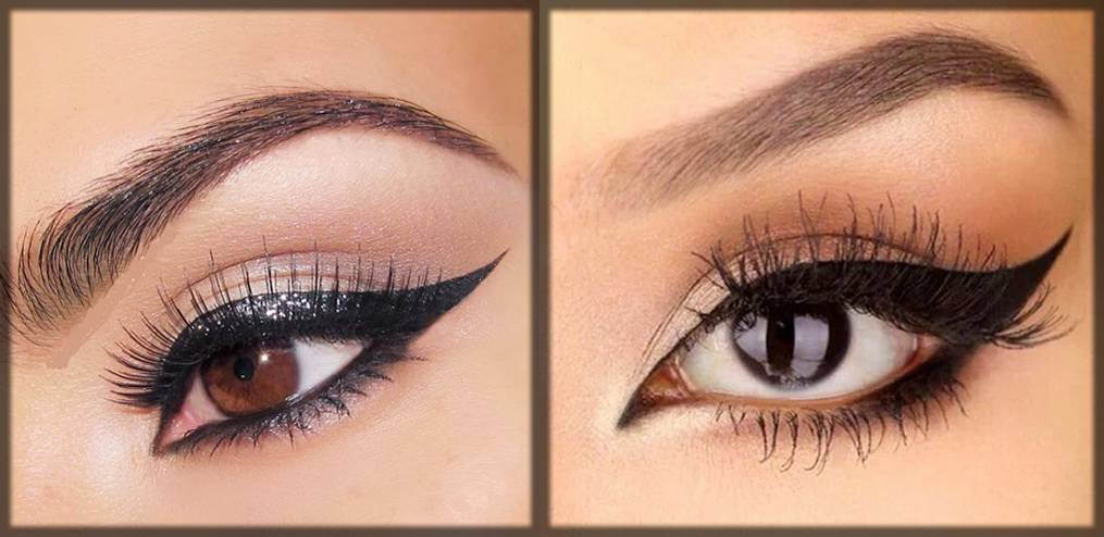 arabic winged eyeliner styles