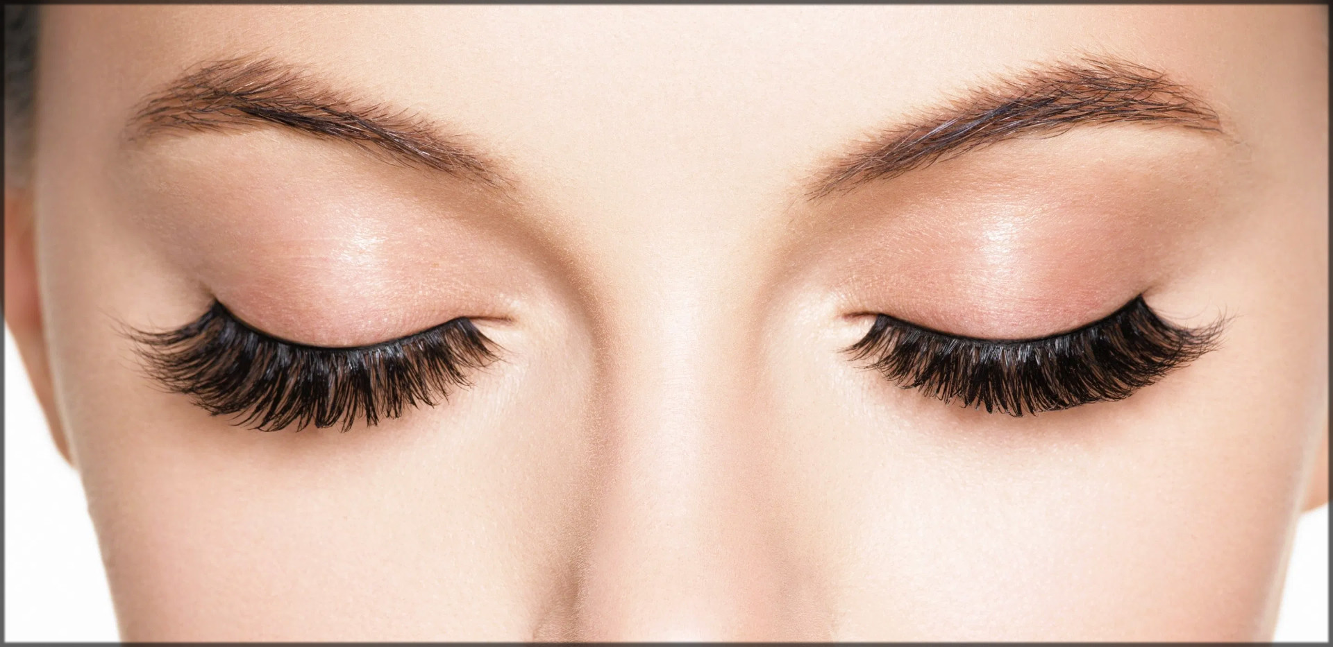 artificial eyelashes for arabic eye makeup
