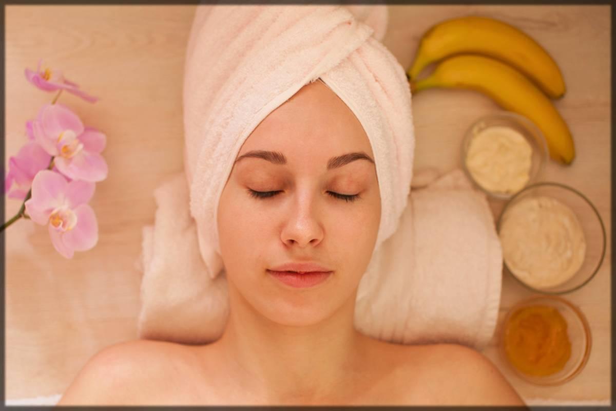 banana face mask for skin lightening