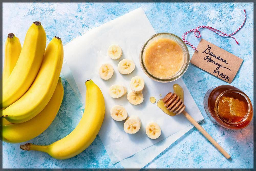 banana honey face mask for fairness