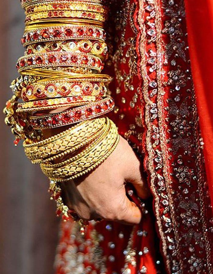 bangles set for wedding brides