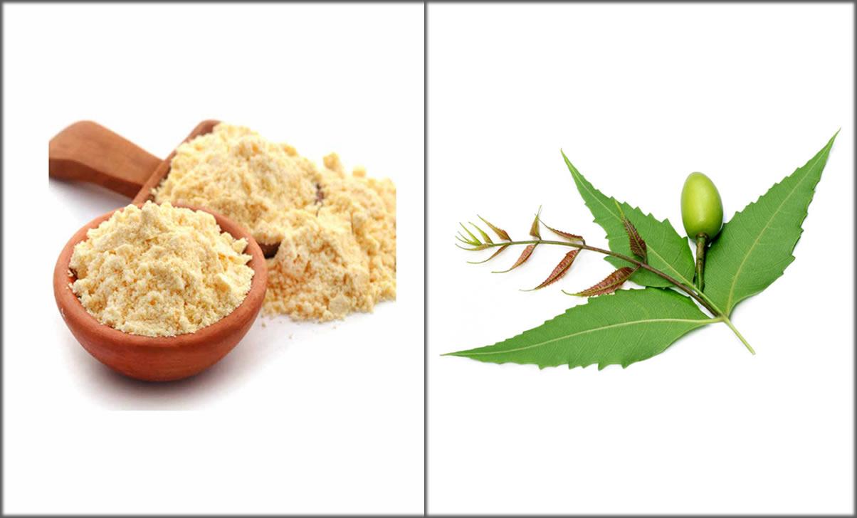 besan and neem