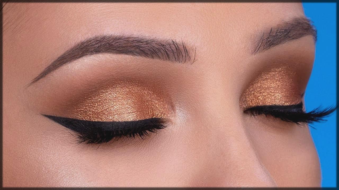 bronze smokey eye make up