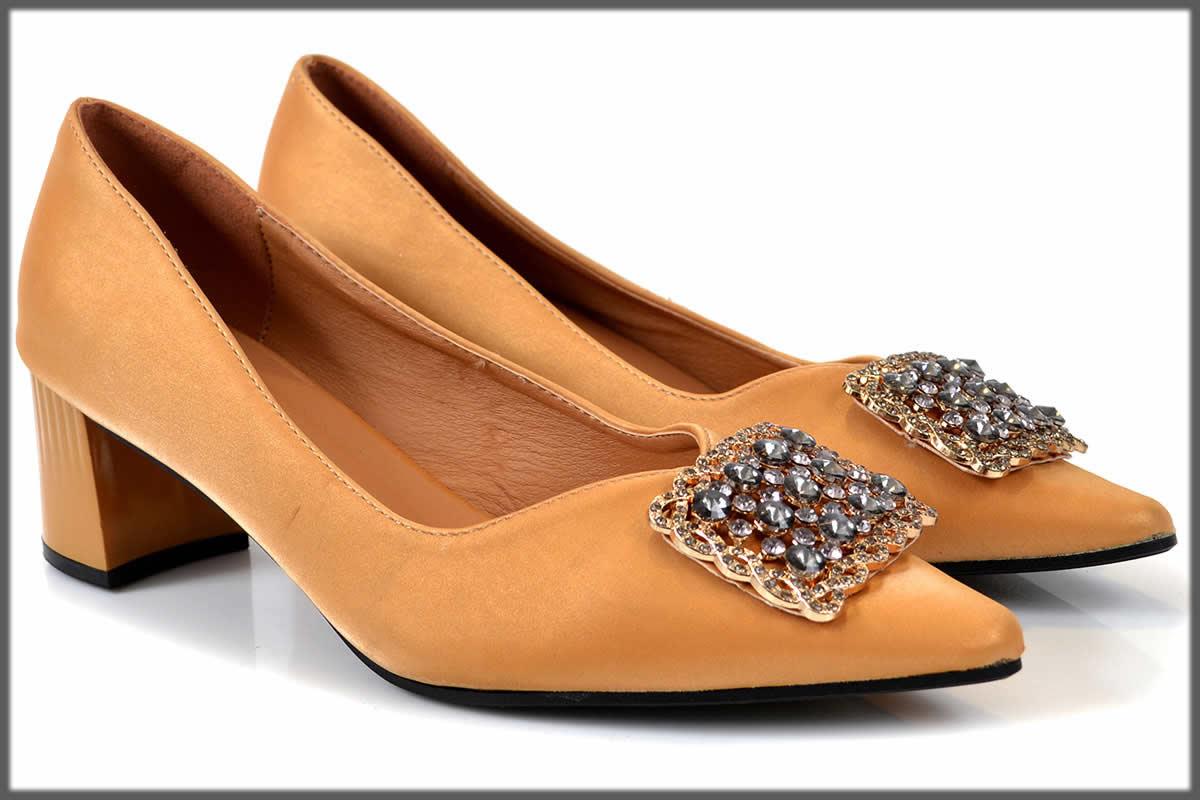 camel fancy Winter Shoes For Women