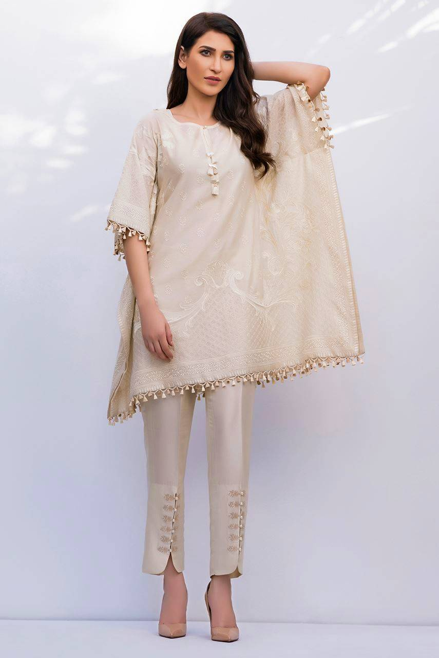 pakistani cape style kurta