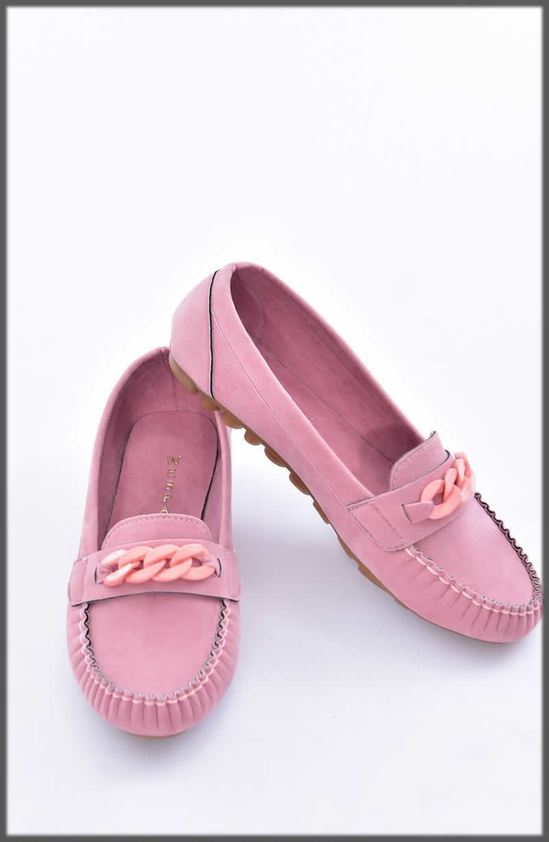 classic pink Winter Shoes For Women
