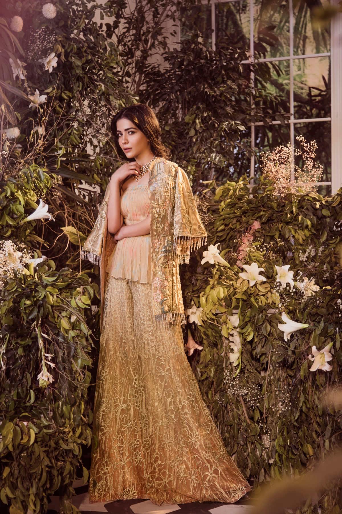 classic walima dress by Saira Rizwan Bridal Collection