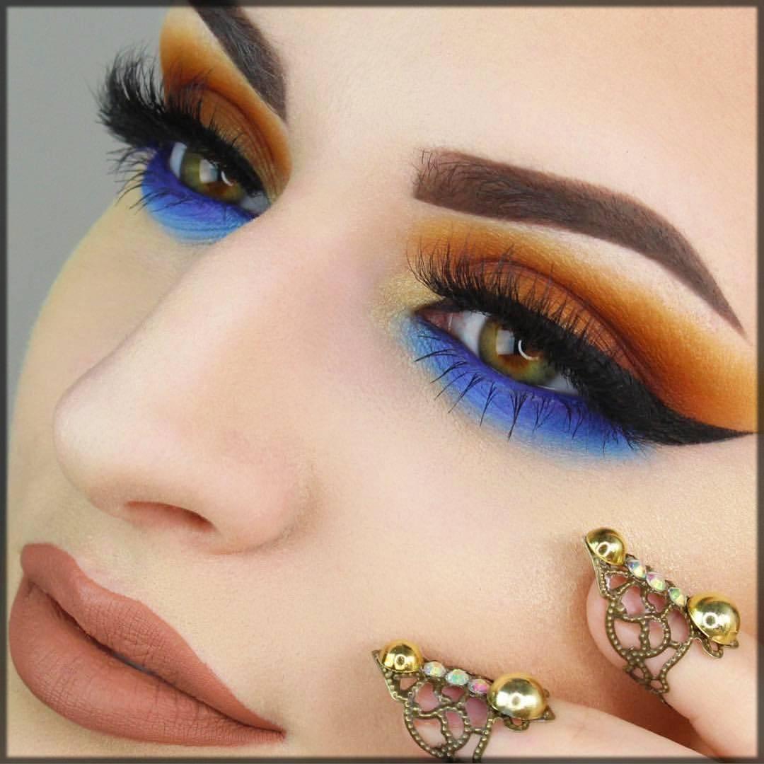 classy arabic makeup