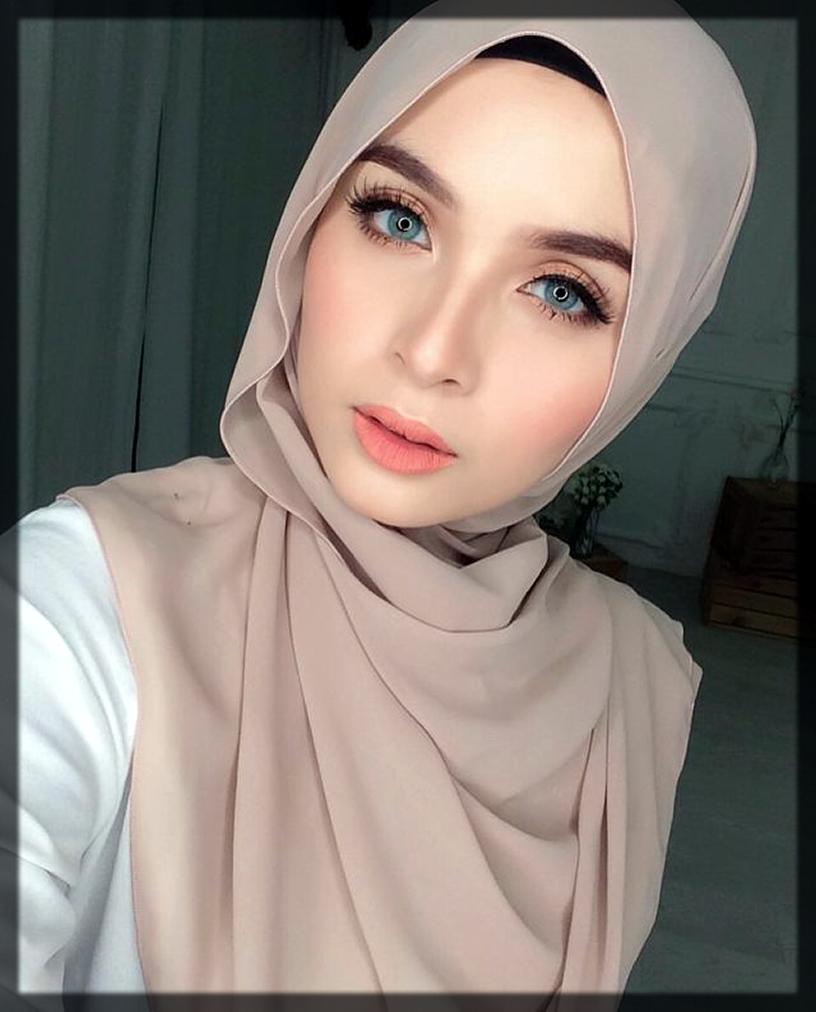 classy hijab makeup ideas