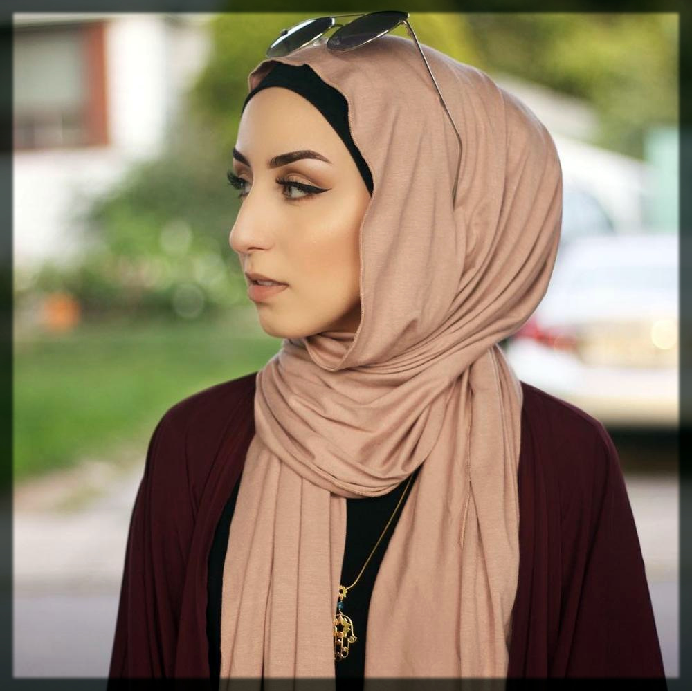 classy Hijab Wrapping Ideas