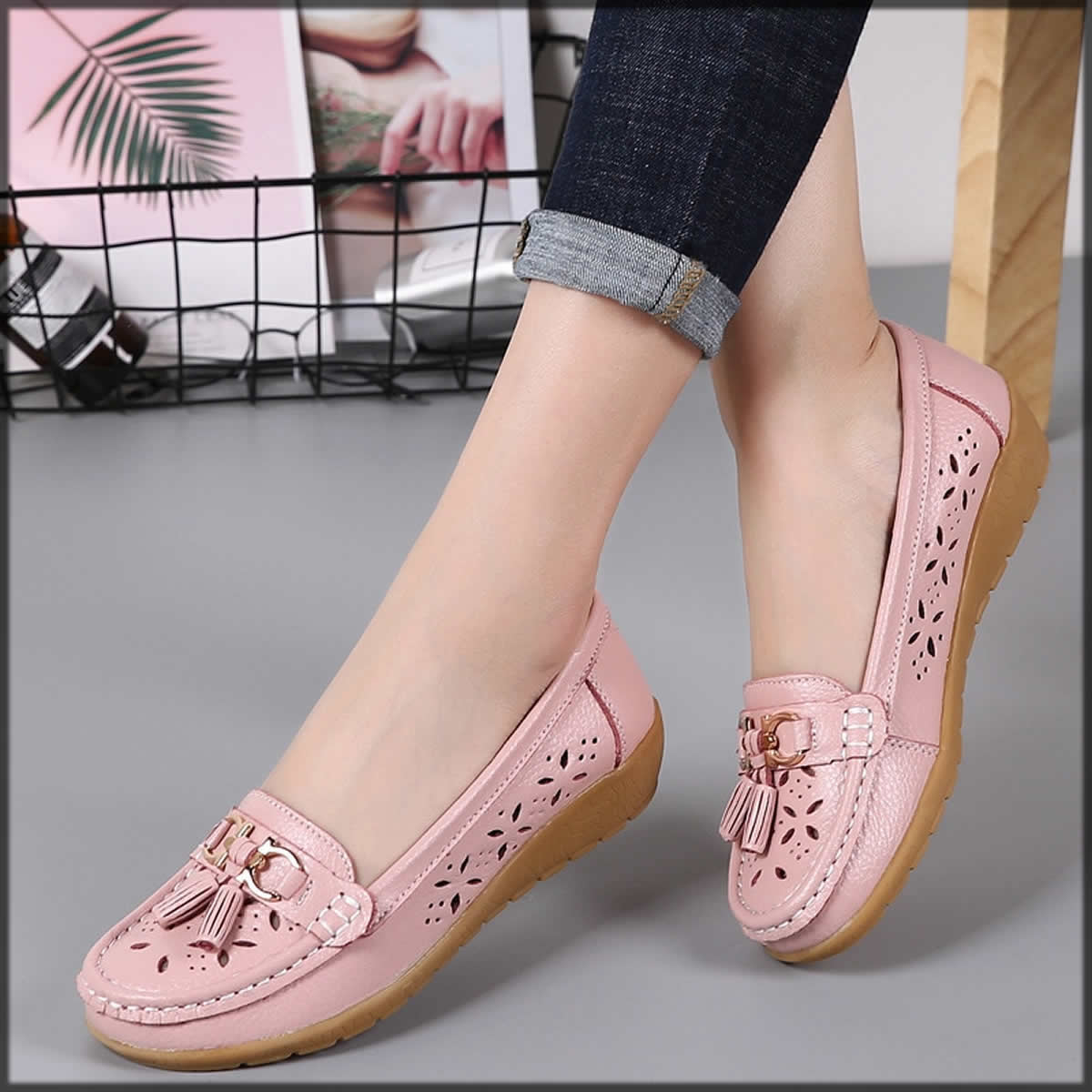 classy pink Winter Shoes For Women