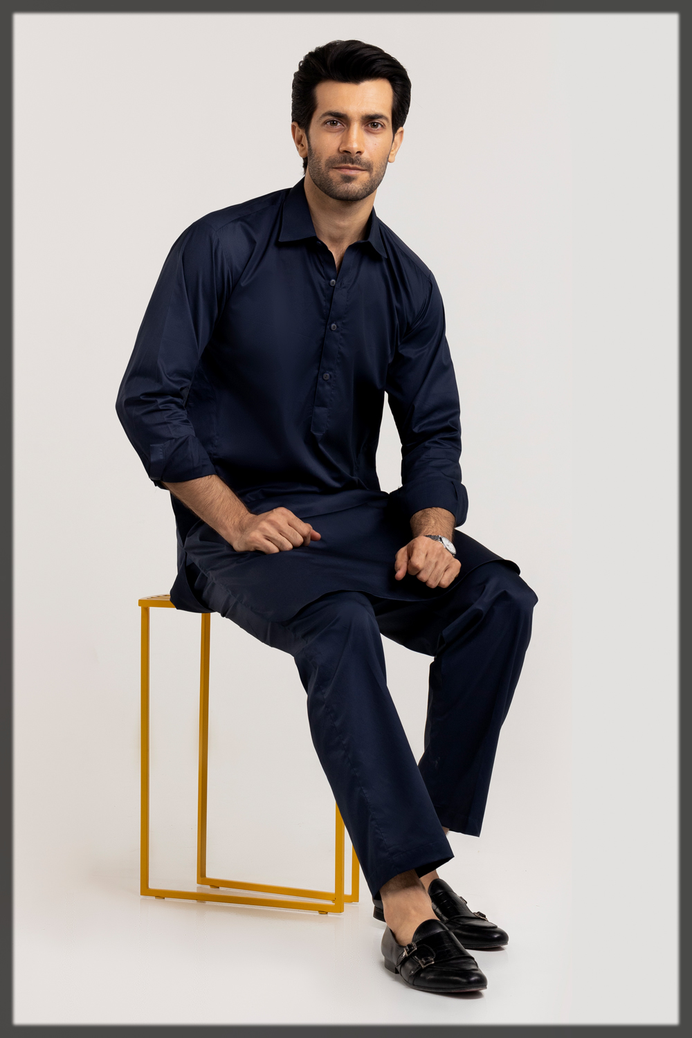classy summer suit for men by gul ahmed