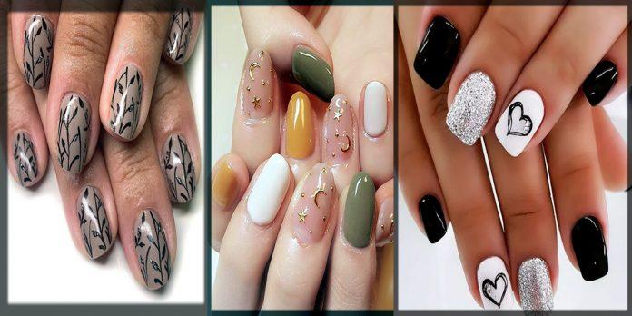 classy winter nail art designs