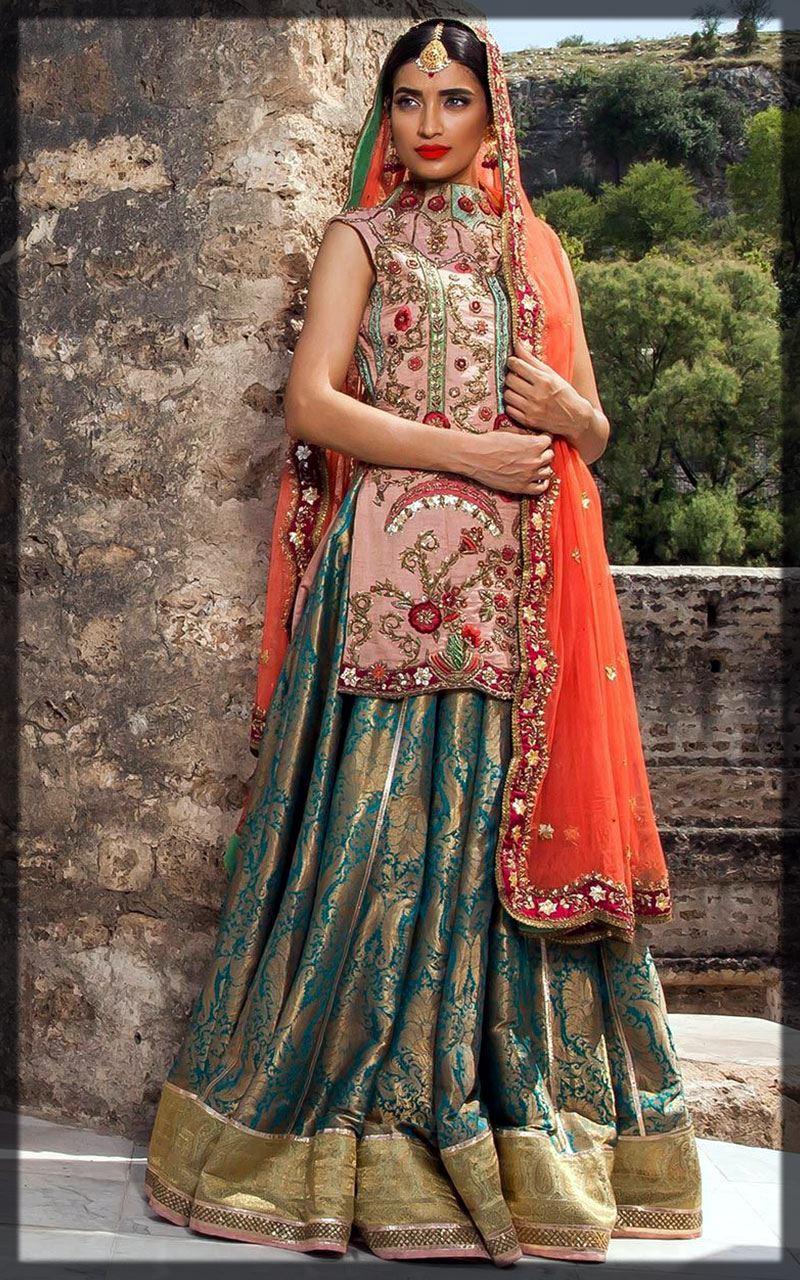 dazzling bridal wear by fahad