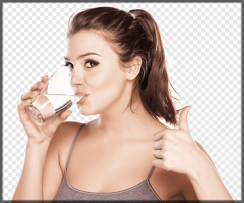 drink water - basic skin whitening tip