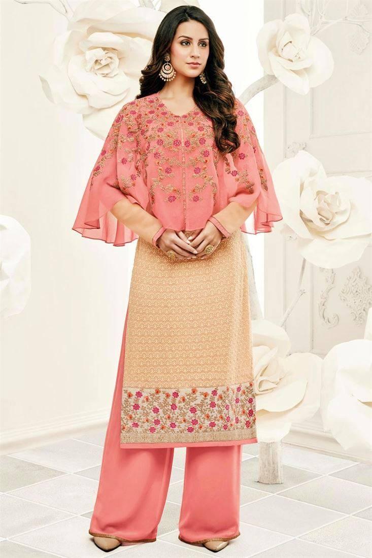 exclusive cape style shalwar kameez