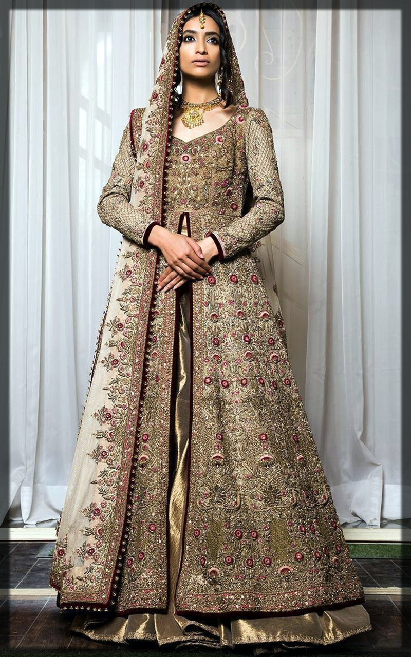 front open bridal collection by fahad