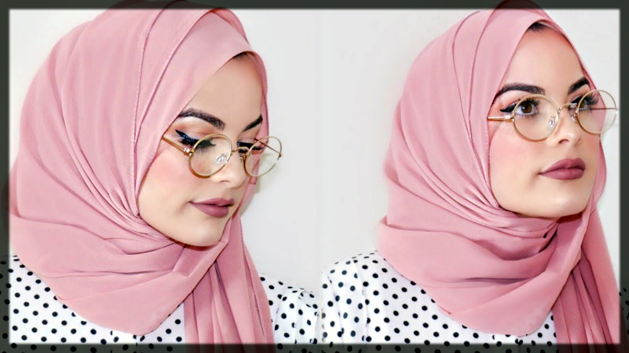 heart shape hijjab style