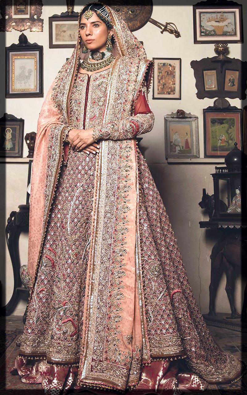 heavy dress for bridal