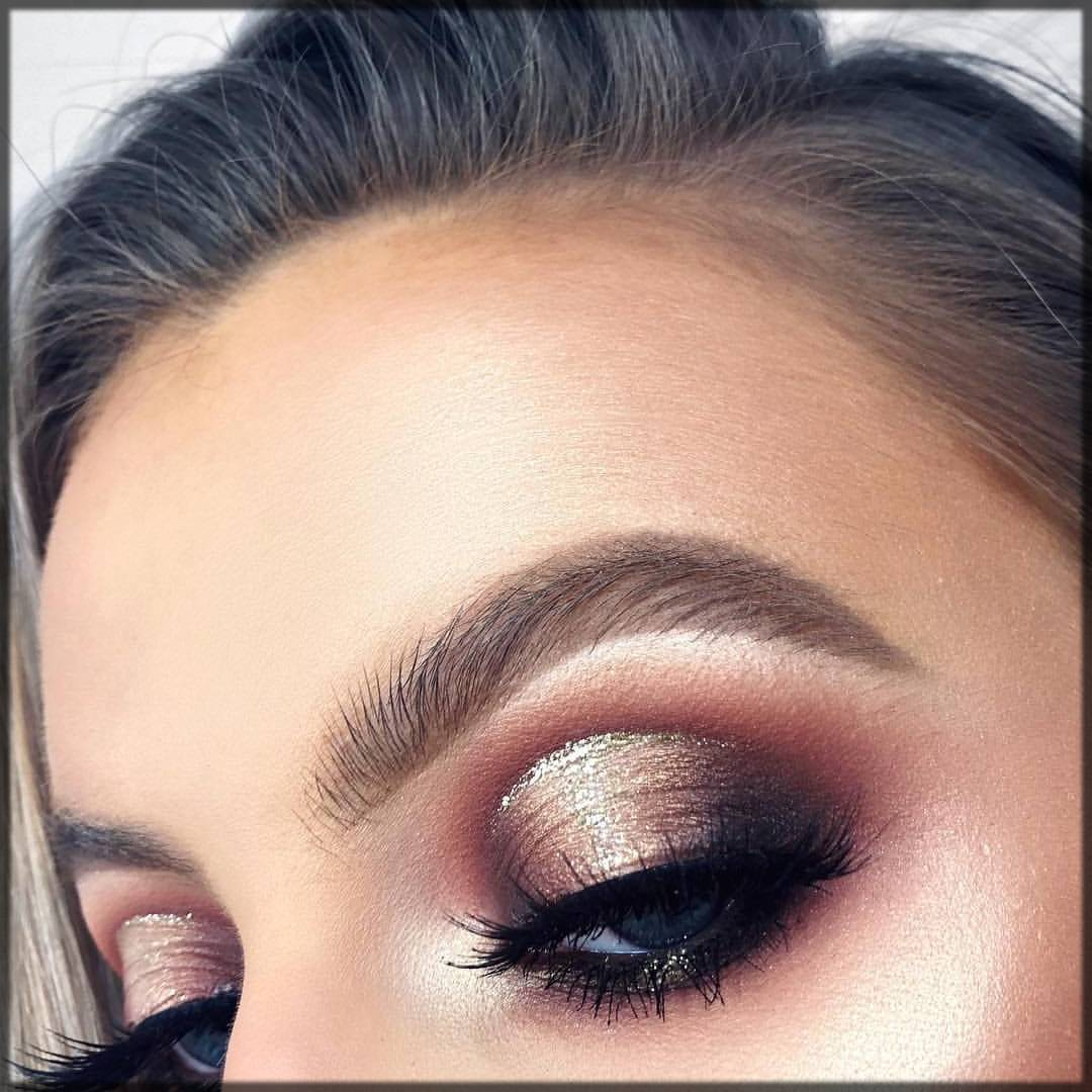 arabic style highlighted eye makeup