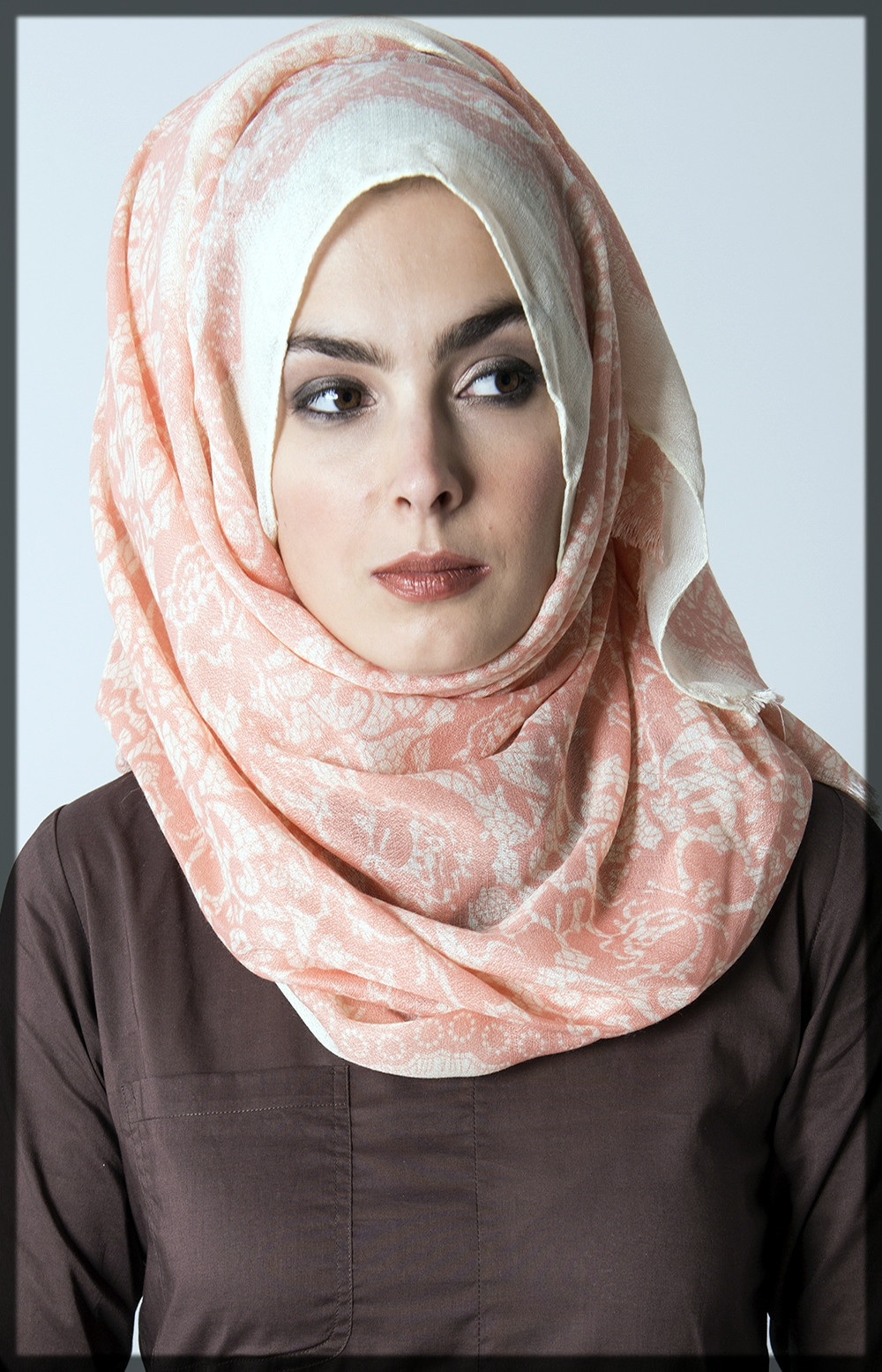 hijab wrapping ideas for long face