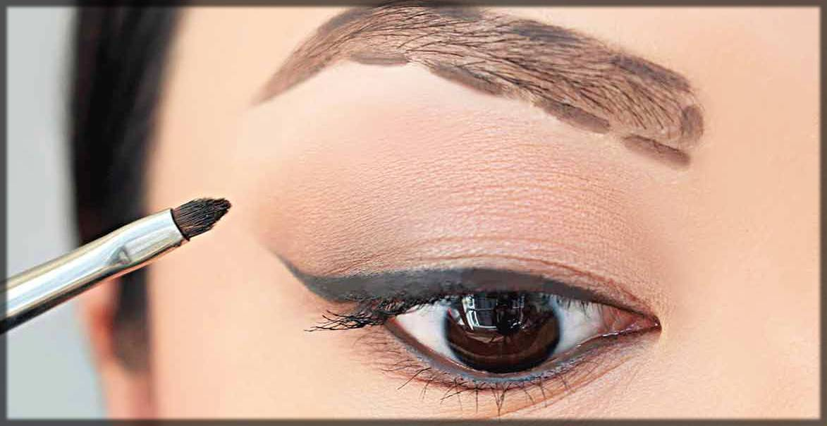 how to shape eyebrows for arabic eye makeup