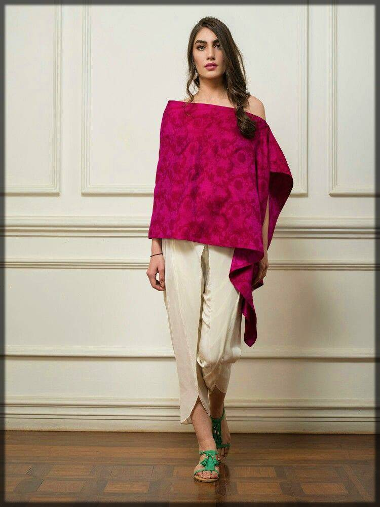 innovative style dress with tulip style pant