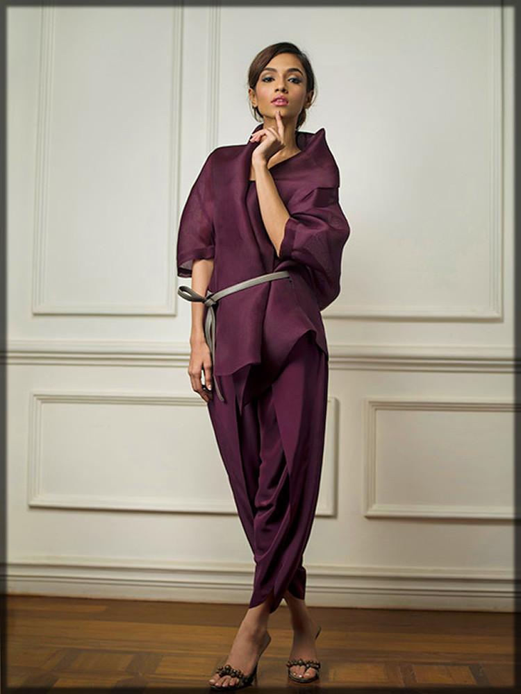 innovative western style tulip bottom suit