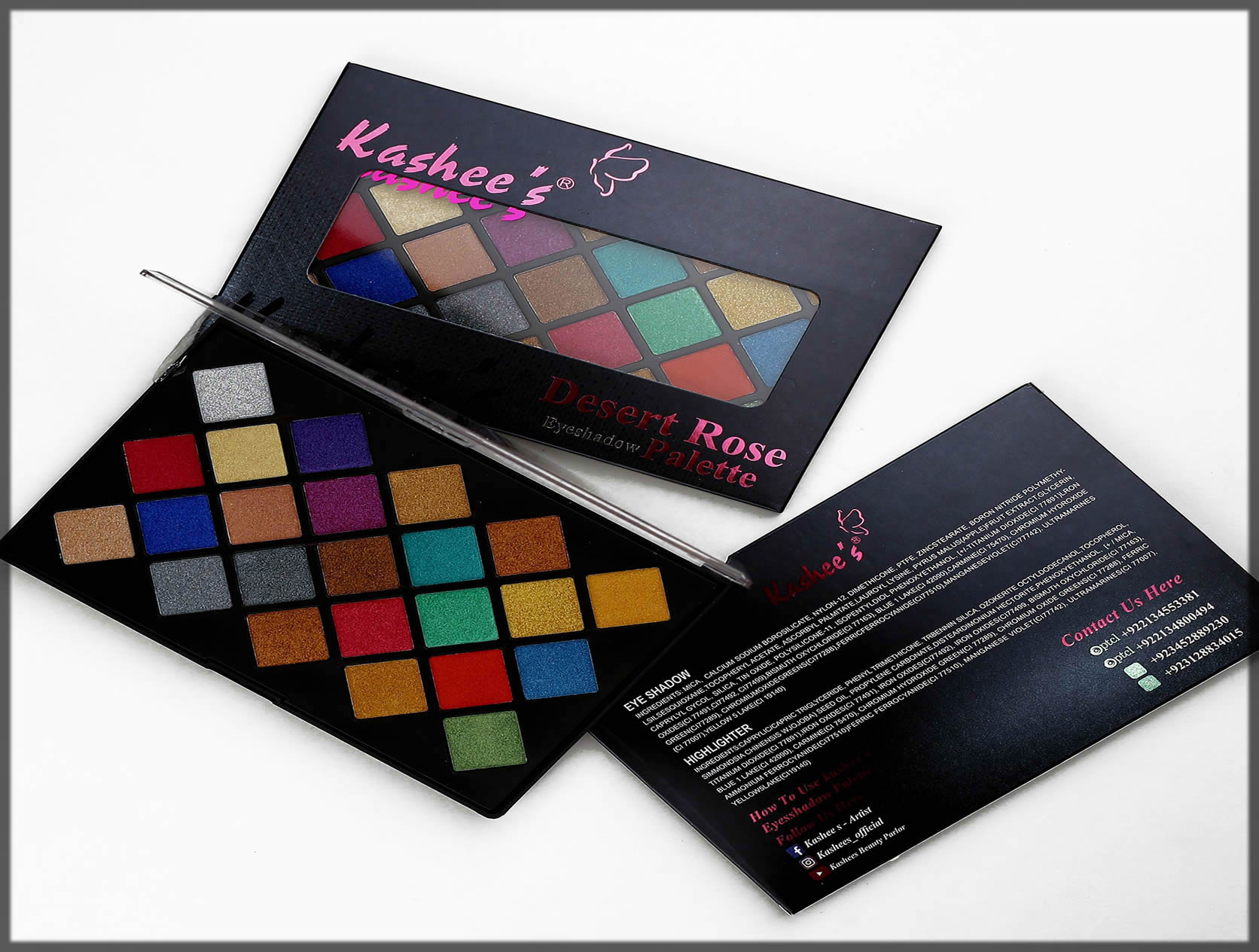 Latest Kashees Makeup Products
