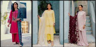 Cross Stitch Summer Collection 2021 Stitch & Unstitch Dresses [Prices]