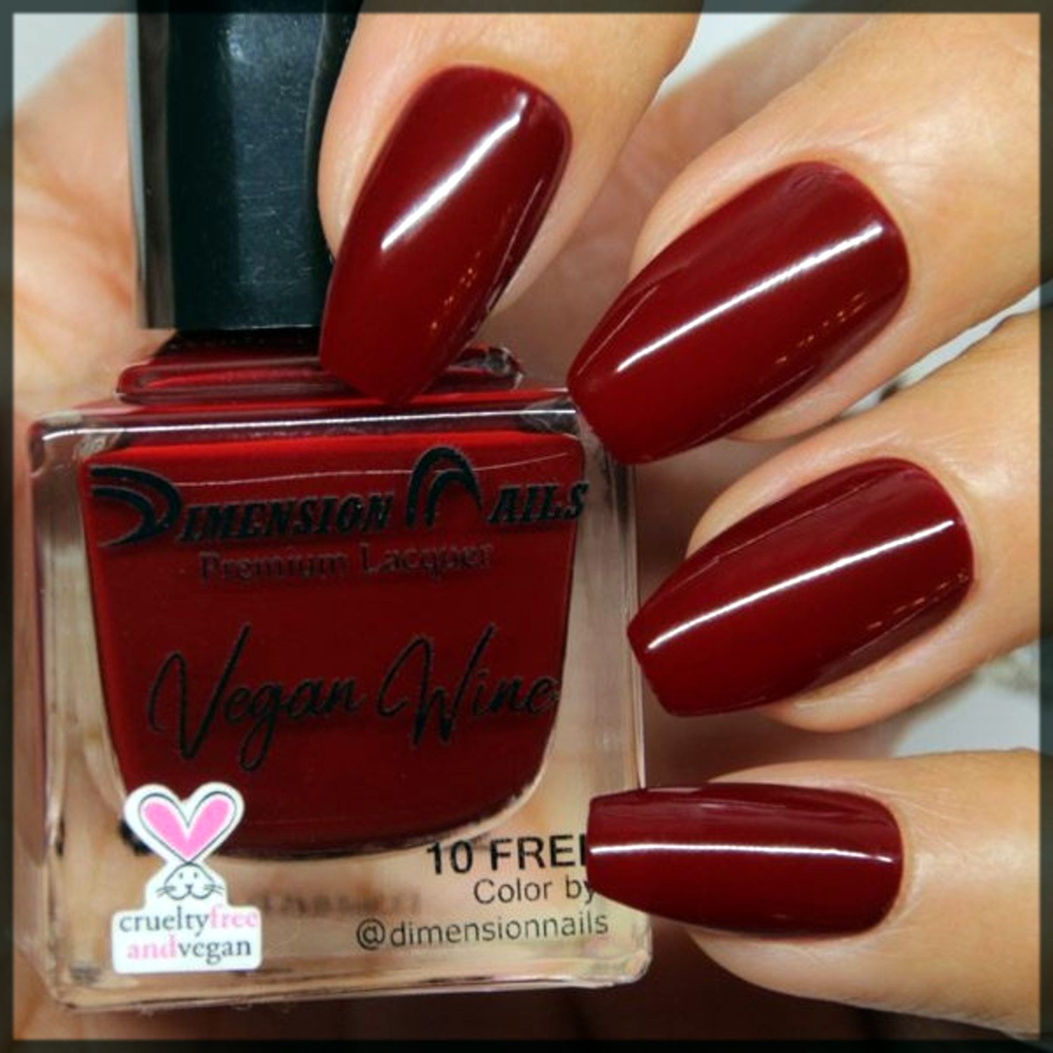 maroon Fall Winter Nail Color Trends In 2020