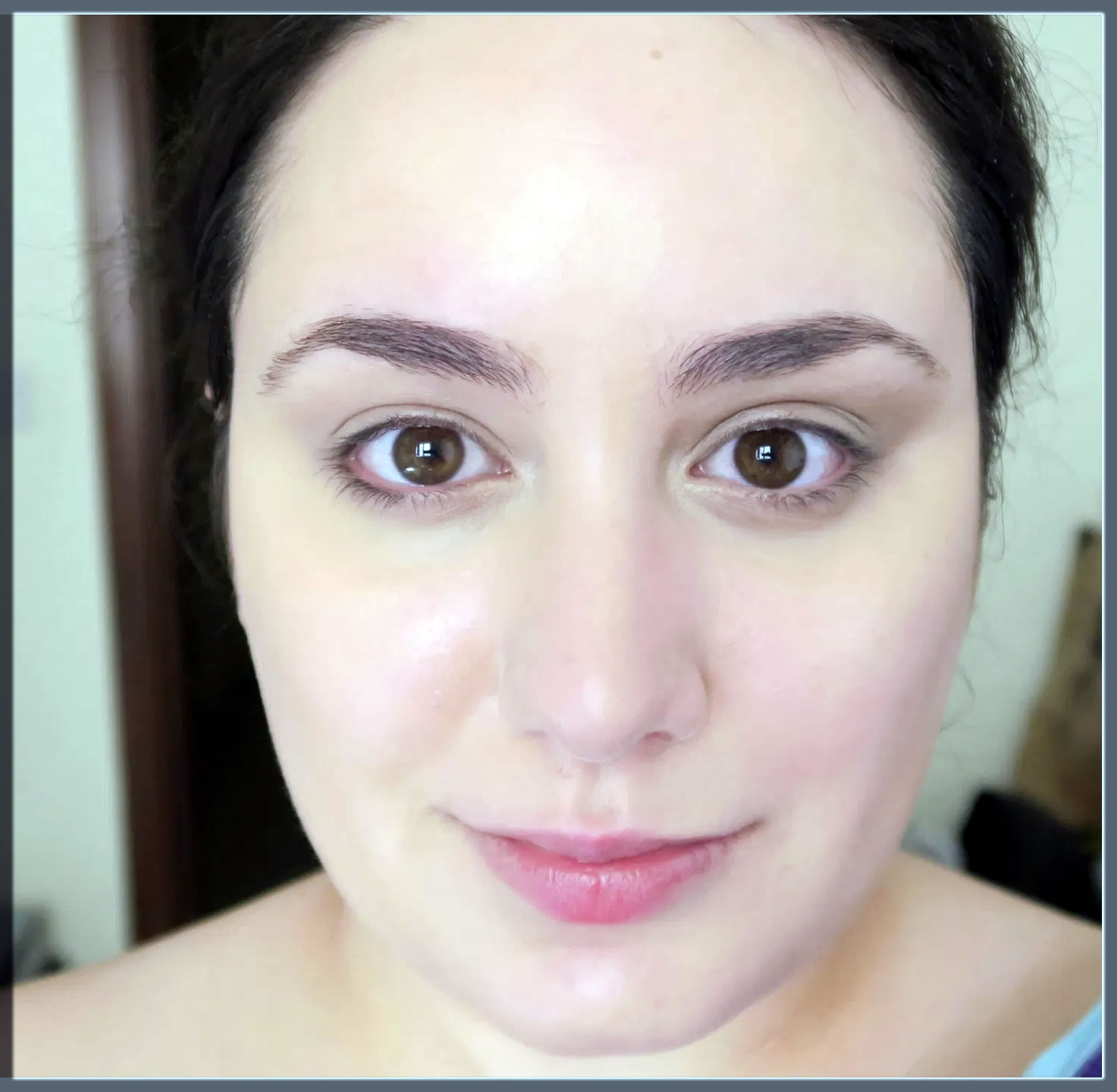 natural foundation look