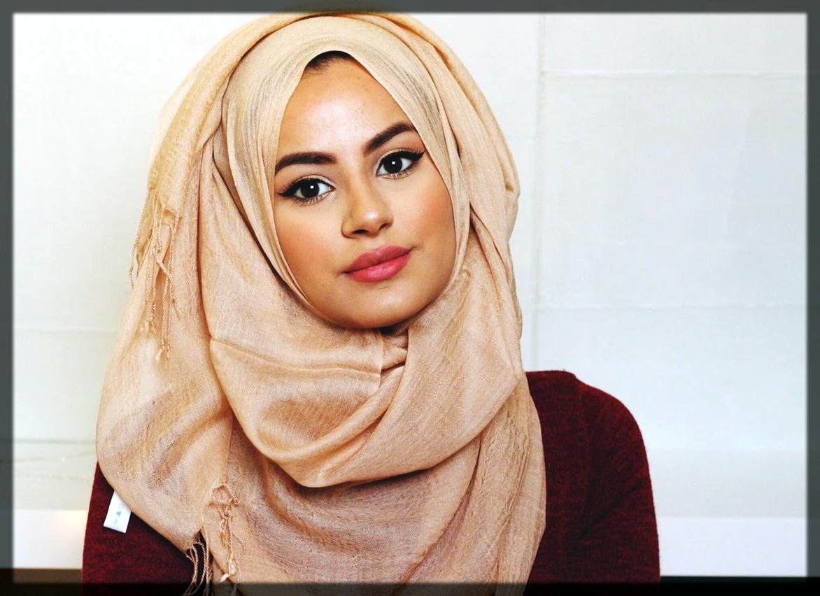 oval face shape hijab styles