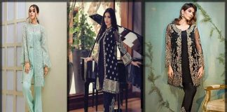 Latest Pakistani Gown Style Dresses 2021 by Top Designers/Brands
