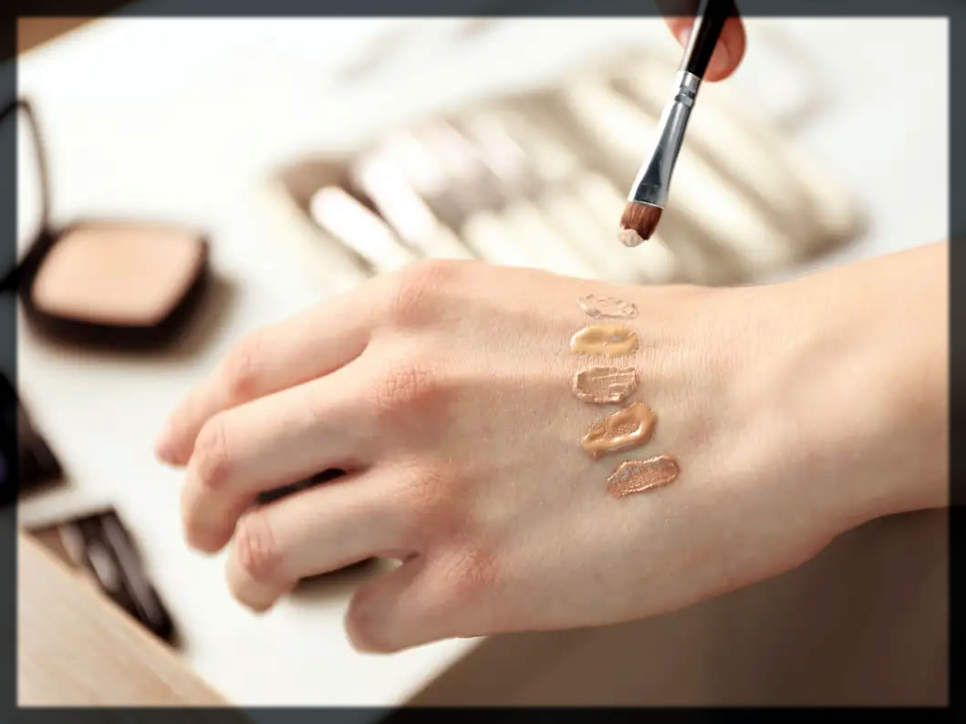 How To Choose The Right Foundation patch test