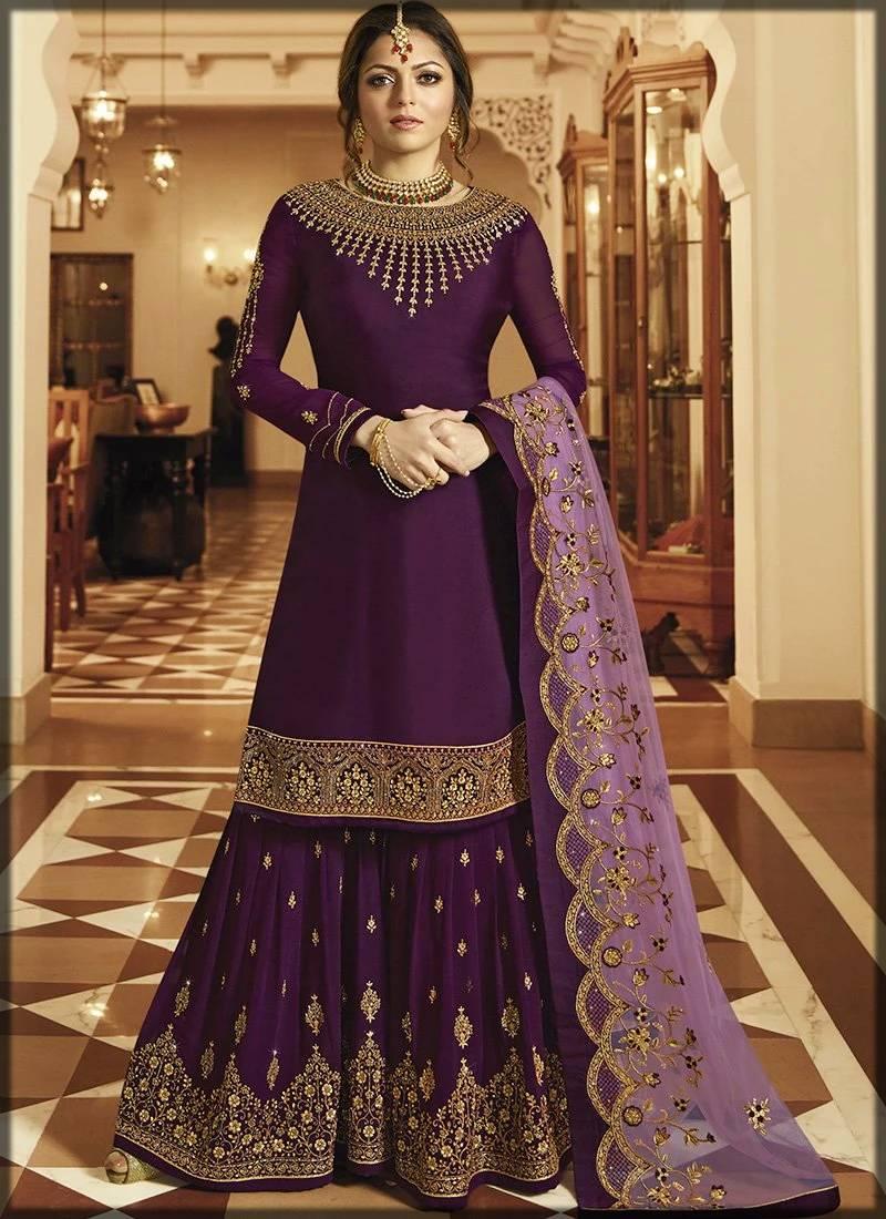Bridal sharara dress For nikkah