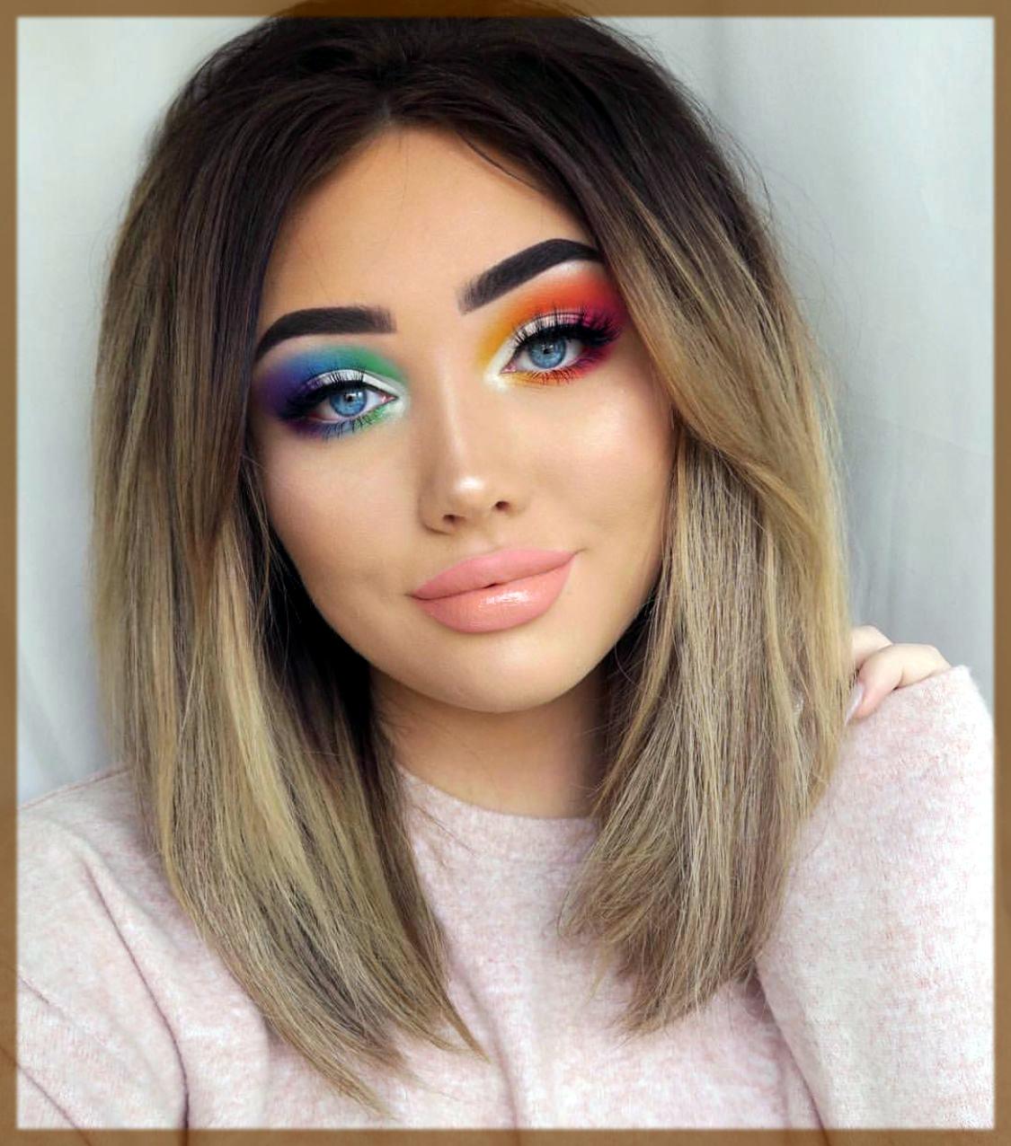 rainbow winter makeup tips and tricks
