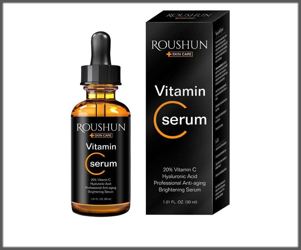 roushun serum for wrinkled skin in winters