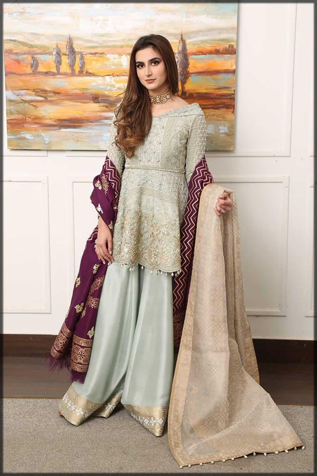 Pakistani Peplum Style Dresses