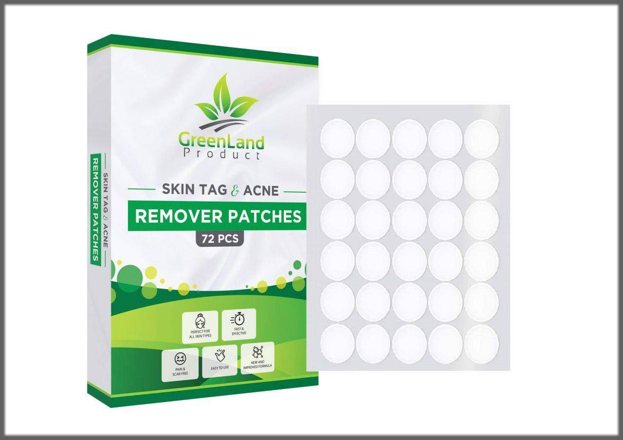 skin tag remover patches for neck region and other body parts