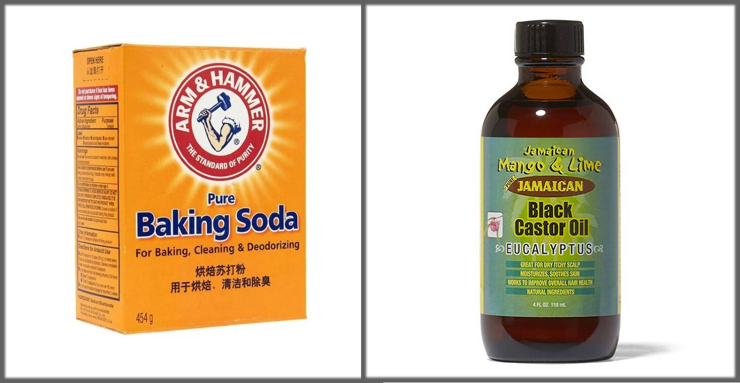skin tags removal by baking soda and castor oil paste