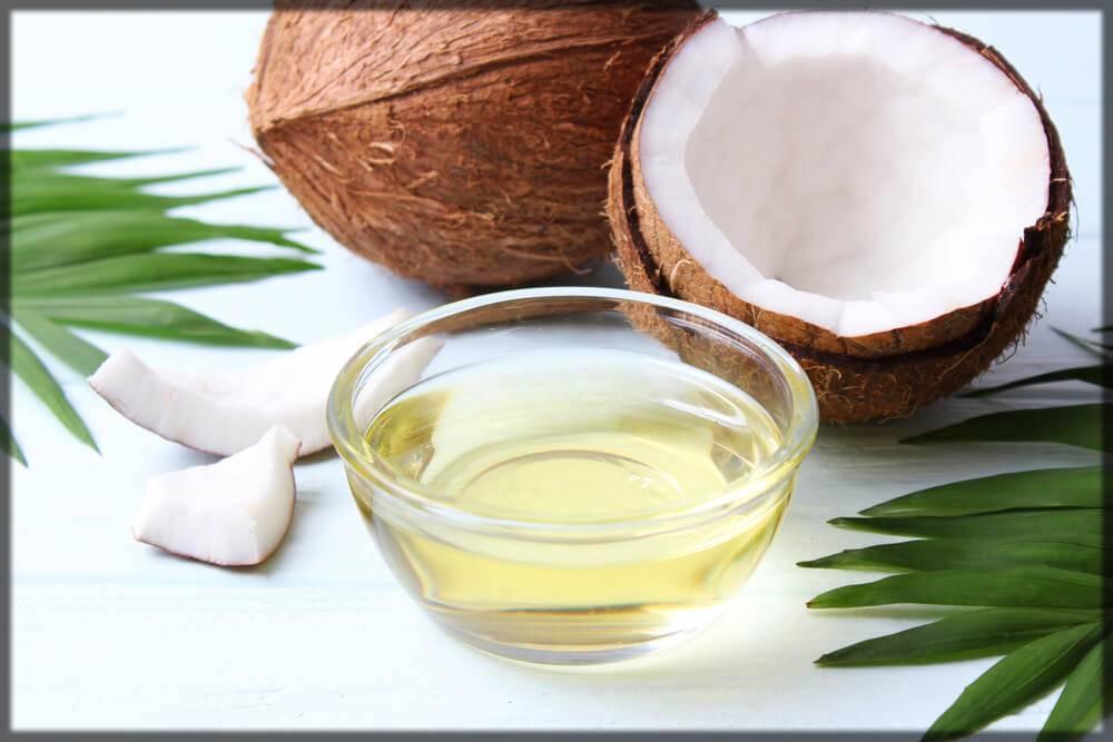 skin whitening tip - coconut oil