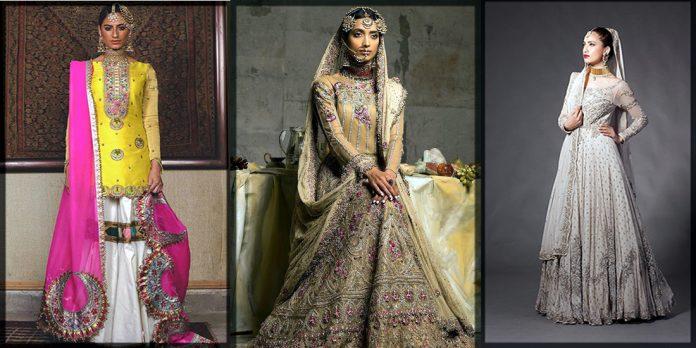 stunning Fahad Hussyan Bridal Collection